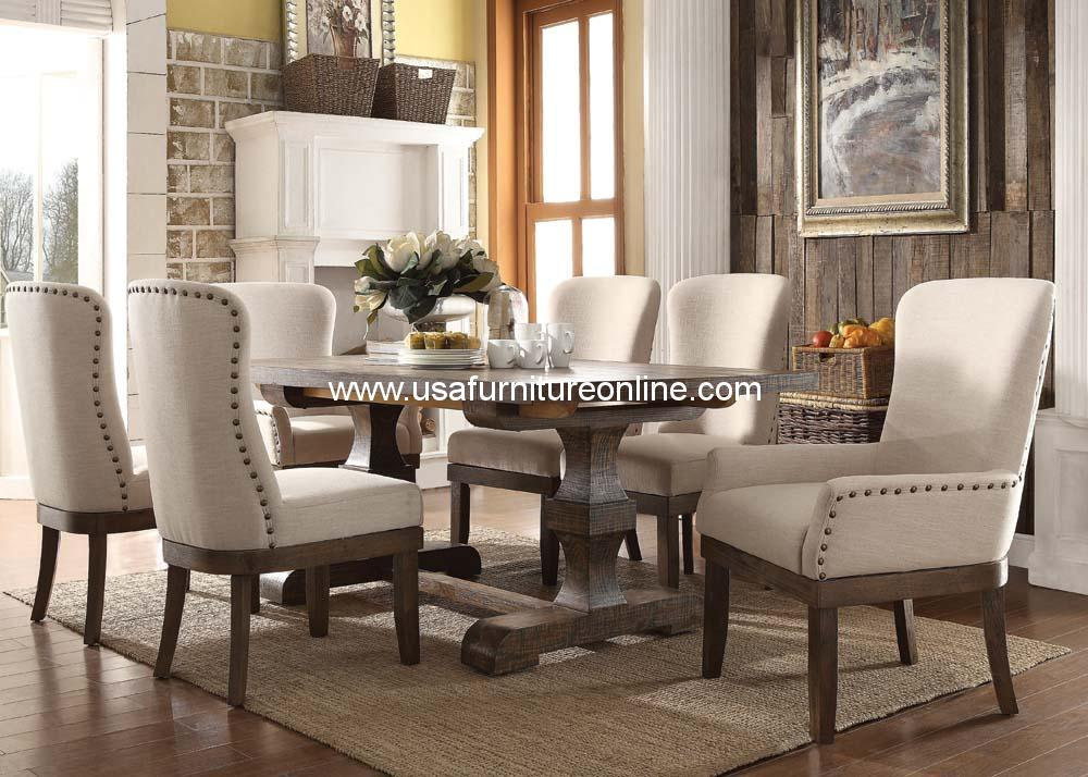 acme 9 piece landon dining set | ebay