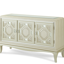 After Eight Pearl Croc Console Cabinet