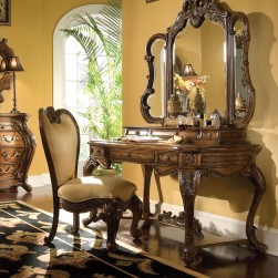 Palais Royale Vanity Writing Desk Set