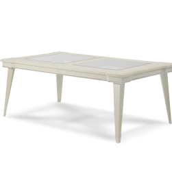 Beverly Blvd Pearl Caviar 4 Leg Dining Table
