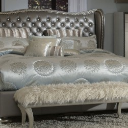 Hollywood Swank Metallic Bed