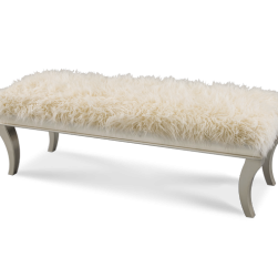 Hollywood Swank Platinum Bed Bench