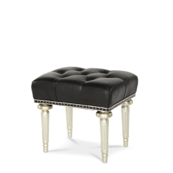 Hollywood Swank Platinum Vanity Bench
