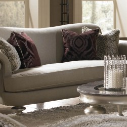 Hollywood Swank Taupe Sofa