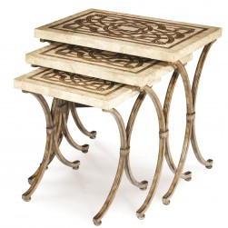 3 Piece Nesting Table AICO