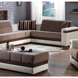 Moon Sleeper Sectional Sunset Cream