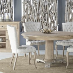 Belmont Stone Wash Round Dining Set