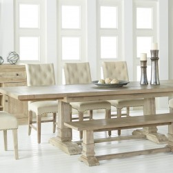 Hudson Stone Wash Dining Set