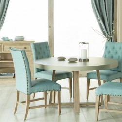 5 Piece Stoneham With Wilshire Chairs Dining Set