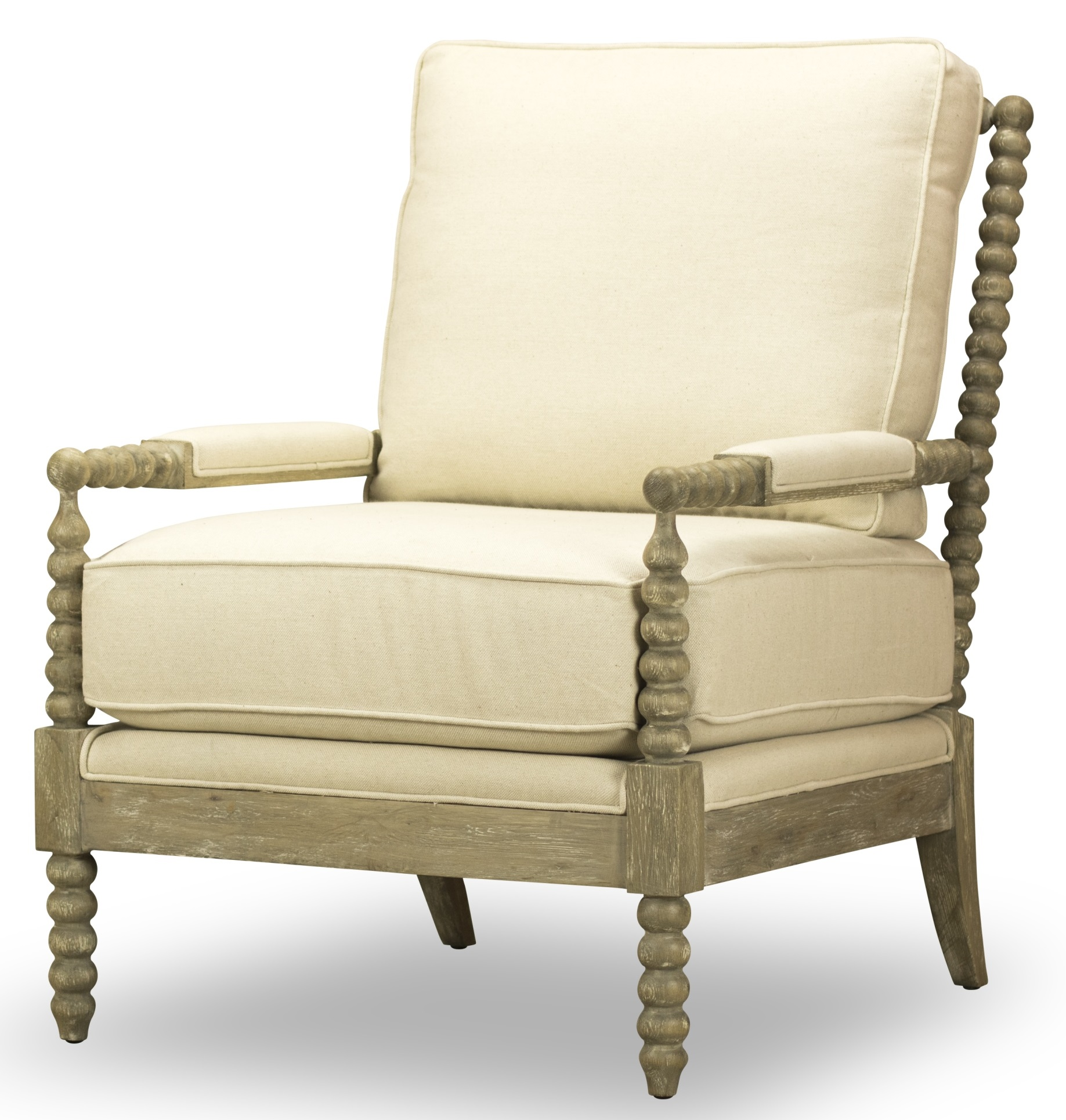Marche Accent Chair Linen By Spectra Home CM1012 A • USA Furniture