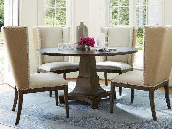 5 Piece Universal Playlist Round Dining Set