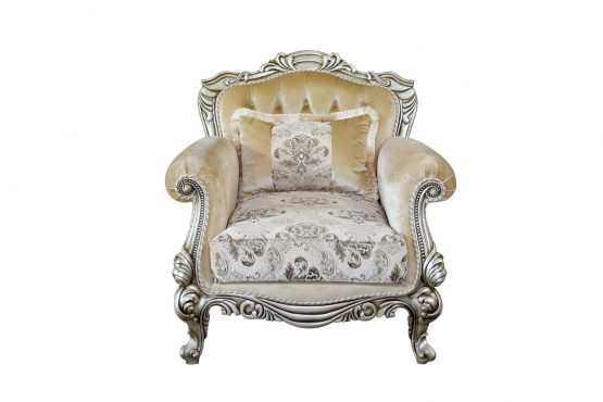 Serena Wood Trim Chair