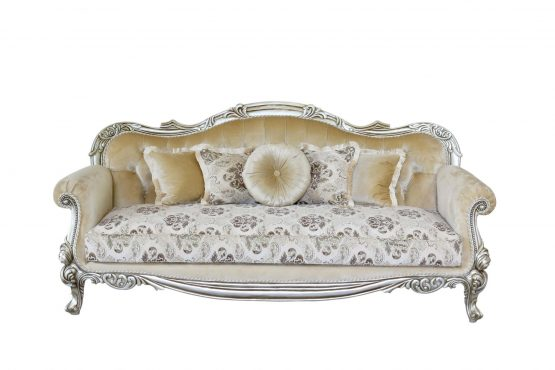Serena Wood Trim Sofa